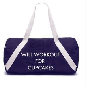 Will Workout for Cupcakes Bag